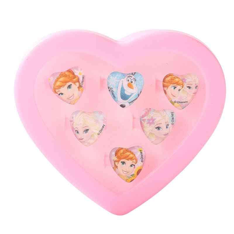 Cartoon Anna Elsa Sofia Princess Disney Frozen Toy Makeup Set