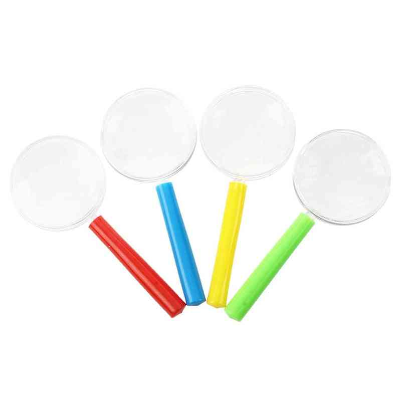 Plastic Mini Magnifying Glass For