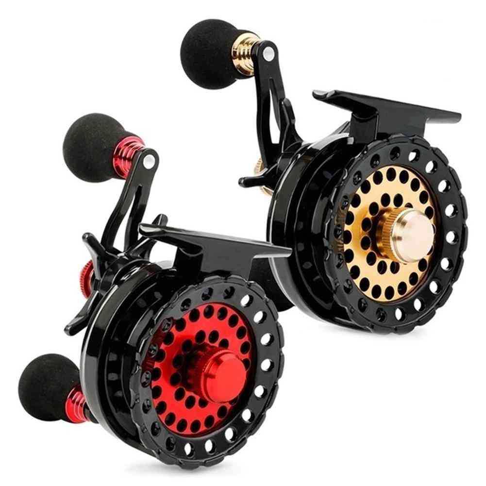 Ball Bearings High Speed Gear Ratio Smooth Left Right Fishing Reel Tackle Raft Fishing Reel