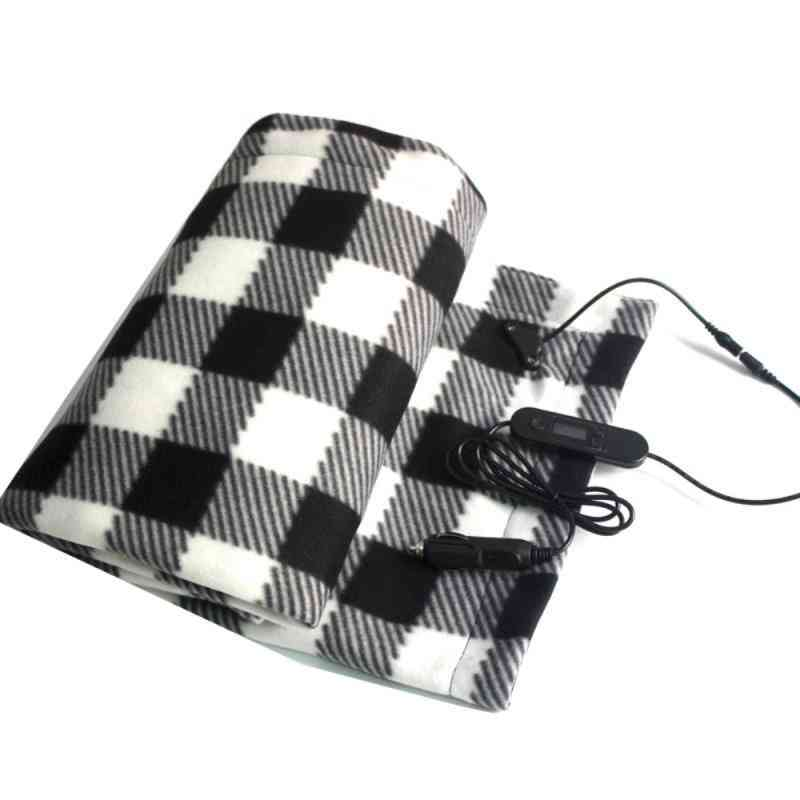 12v Car Electric Blanket Double Warm Heater Bed Thermostat Soft Electric Mattress