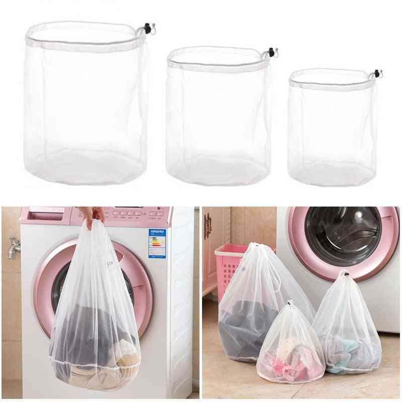 Thicken Drawstring Laundry High Quality Clothing Care Fine Mesh Bags