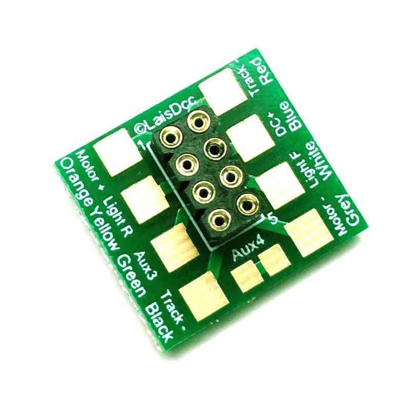 Dcc 8 Pin Nem652 Socket With Solder Tabs
