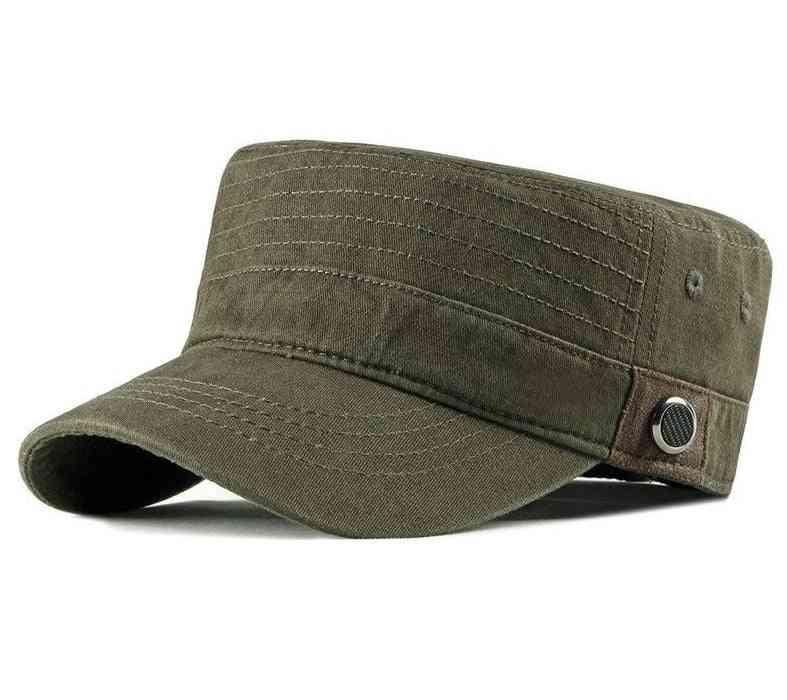 Summer- Flat Top, Baseball Outdoor Hats, Women