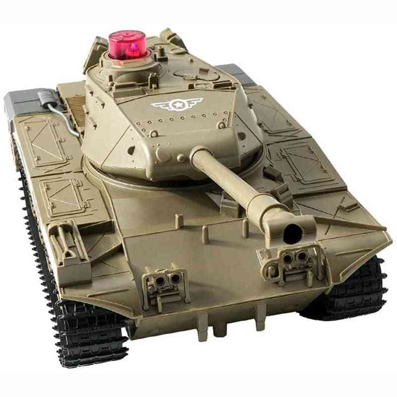 3km/h Electric- Car Vehicle Machine Gun, Remote Control, Tank Outdoor Toy