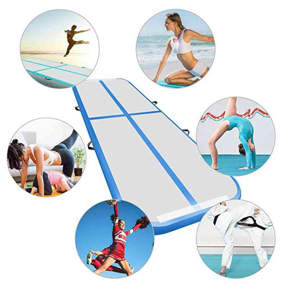 Gymnastics Air Track, Olympics Gym Wear-resistant  Airtrack, Water Yoga Mattress For Home/ Beach