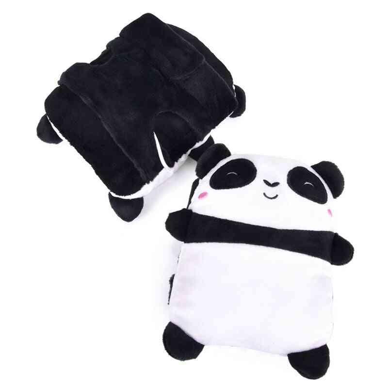 Usb Panda Shape Warm Gloves  (panda Shape)