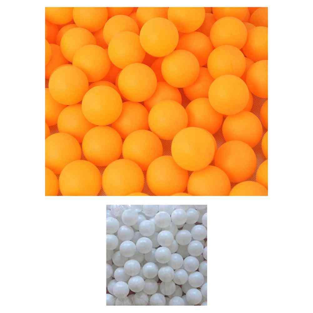 150pcs White Yellow Balls Practice Ping Pong Ball