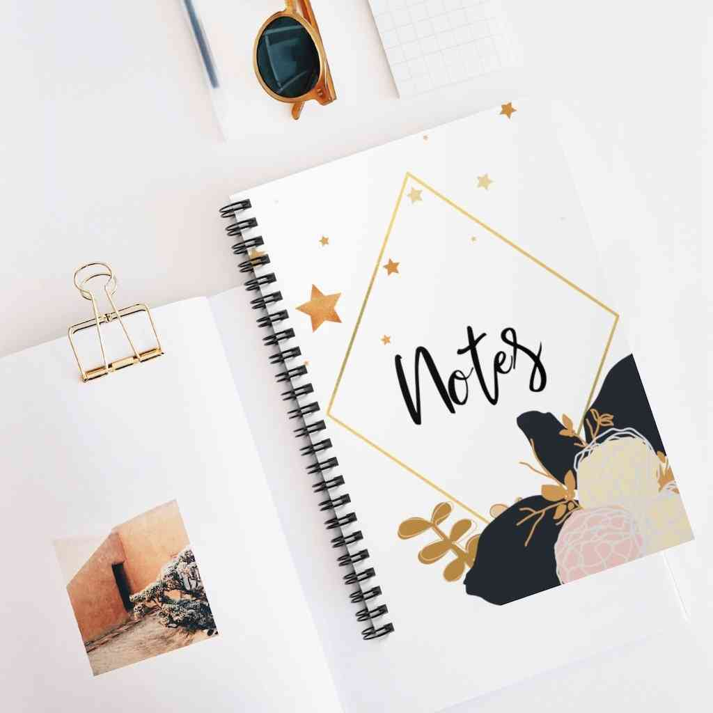 Floral Notebook (lined)