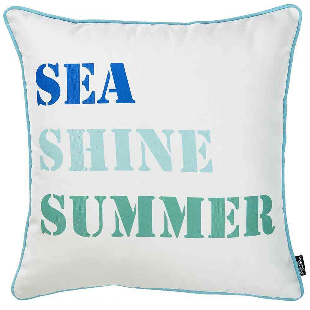 Marine Sea Shine - Pillow Cover (set Of 4)