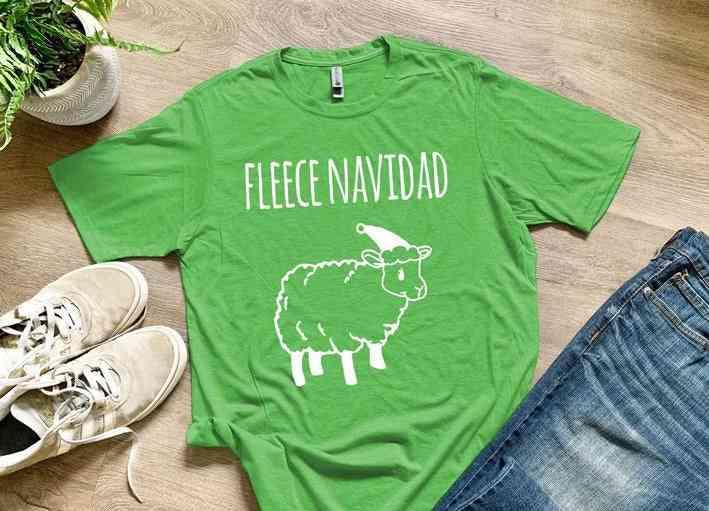 Fleece Navidad Shirts