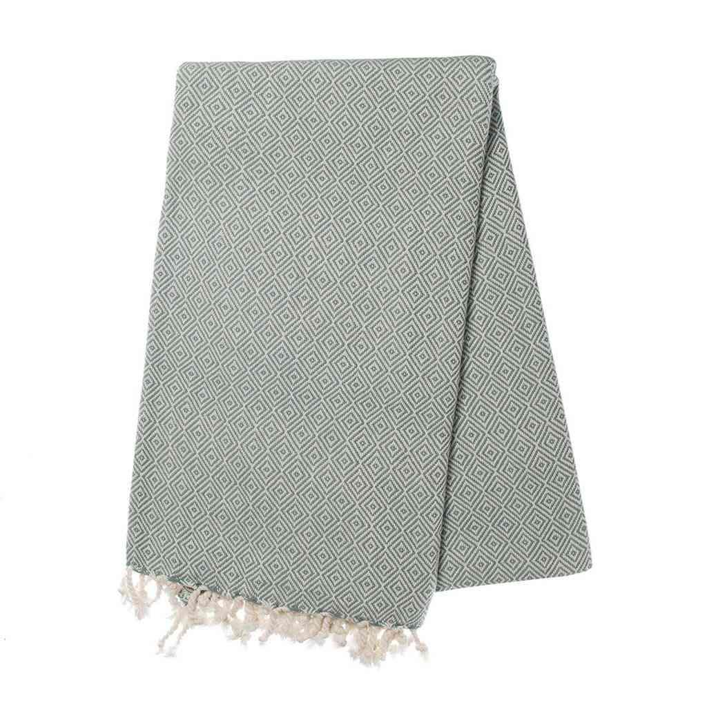 Sea Green Diamond - Turkish Towel
