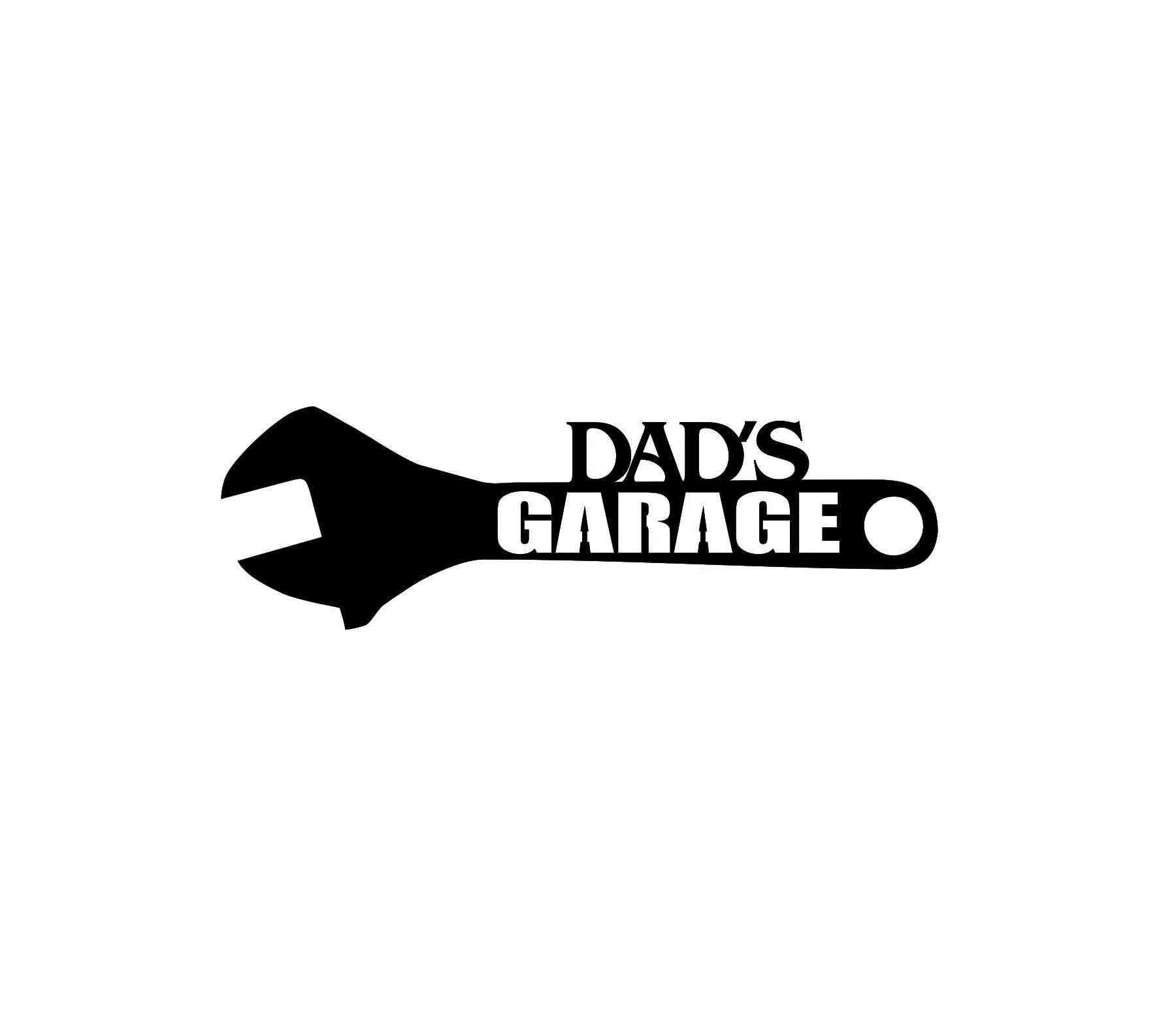 Dad's Garage - Metal Sign