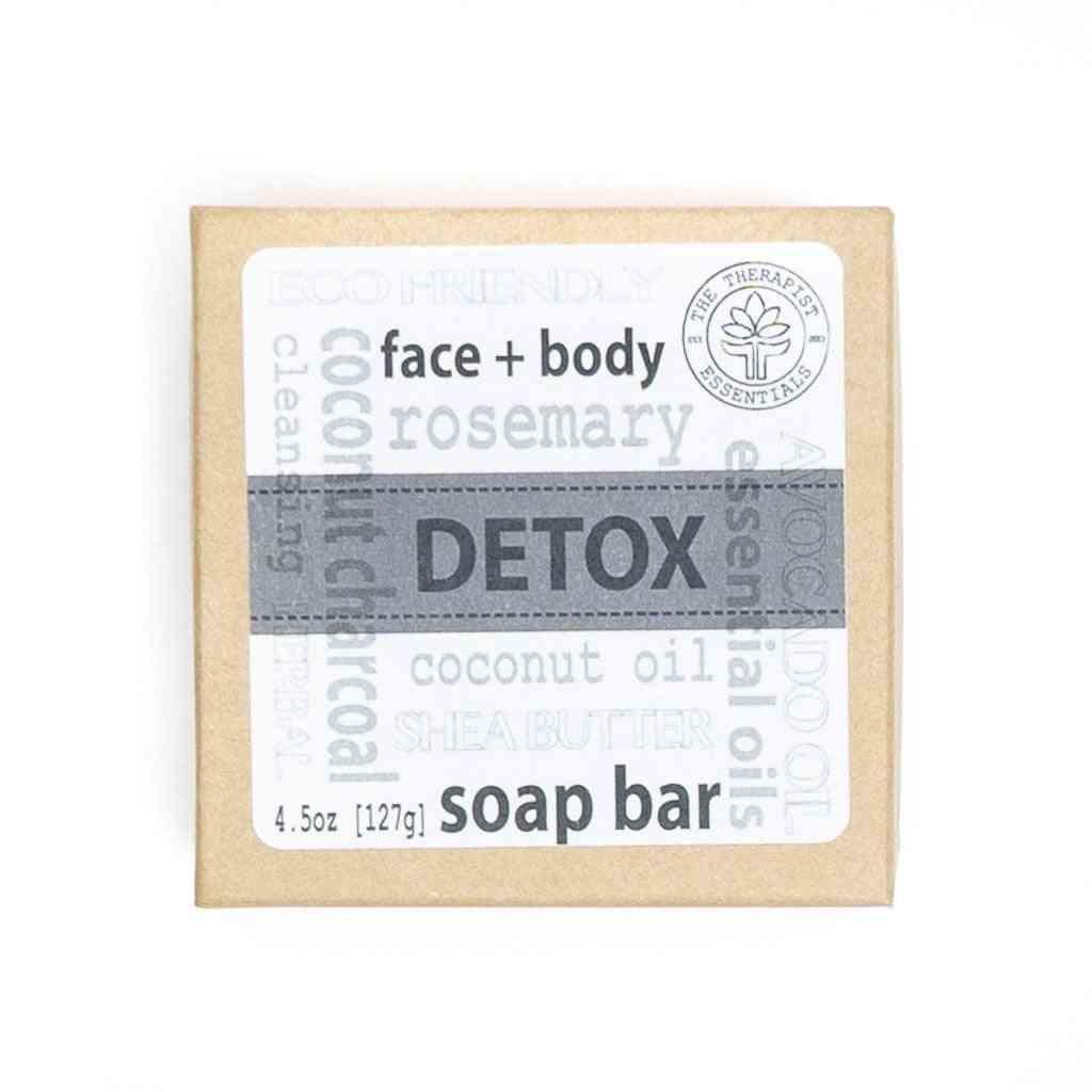 Aromatheraphy Detox Coconut Charcoal Face & Vegan Body Soap