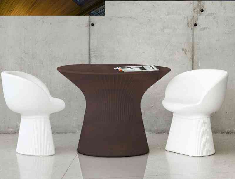 Round Table With Methacrylate Board