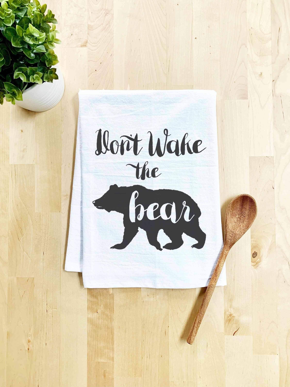 Don't Wake The Bear - Dish Towel
