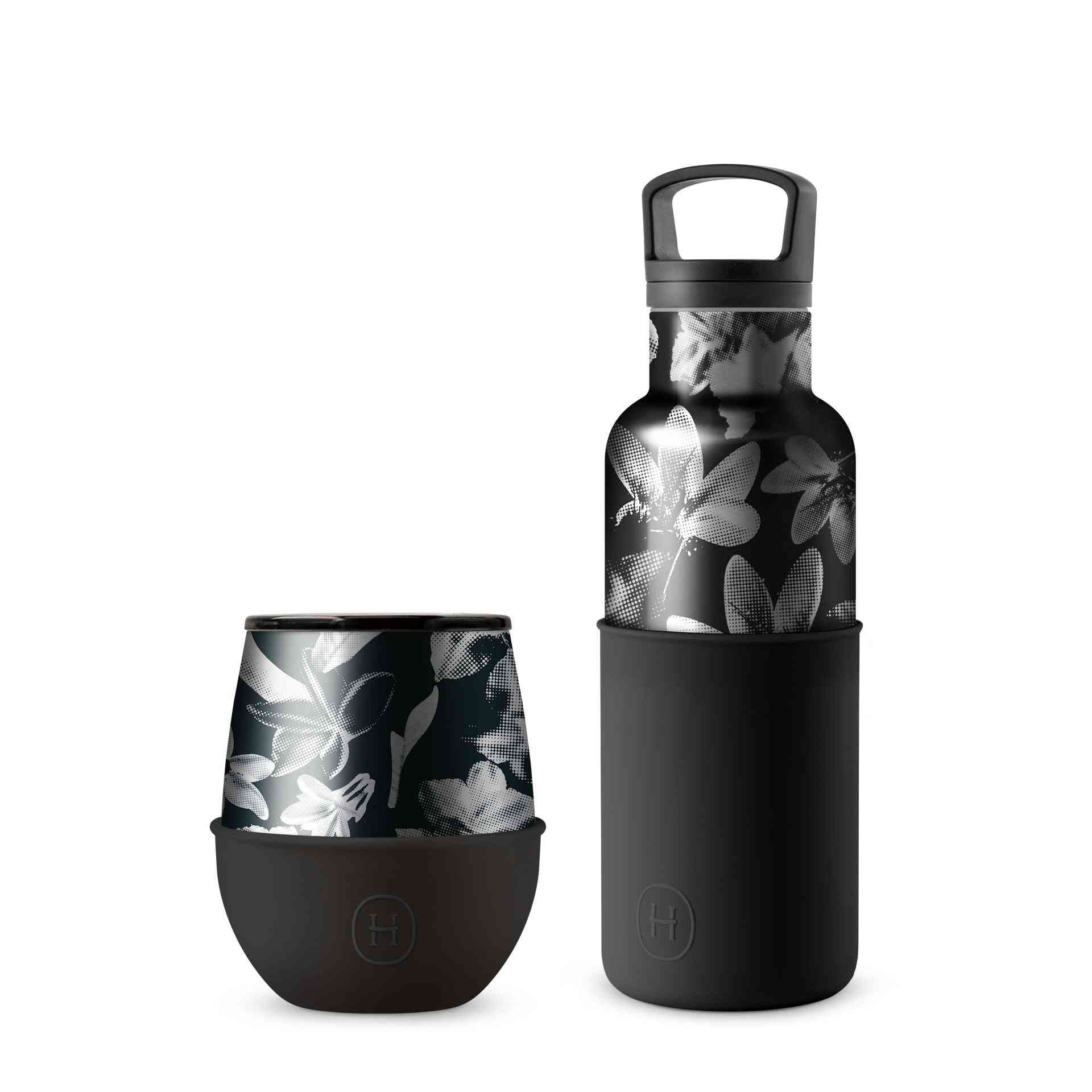 Thermal Bottle And Tumbler Set