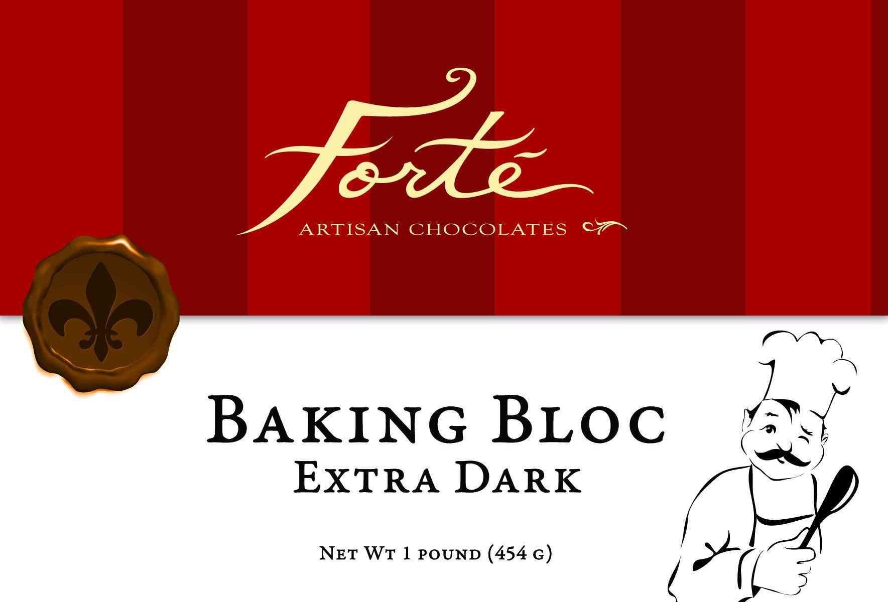 Extra Dark Baking Bloc
