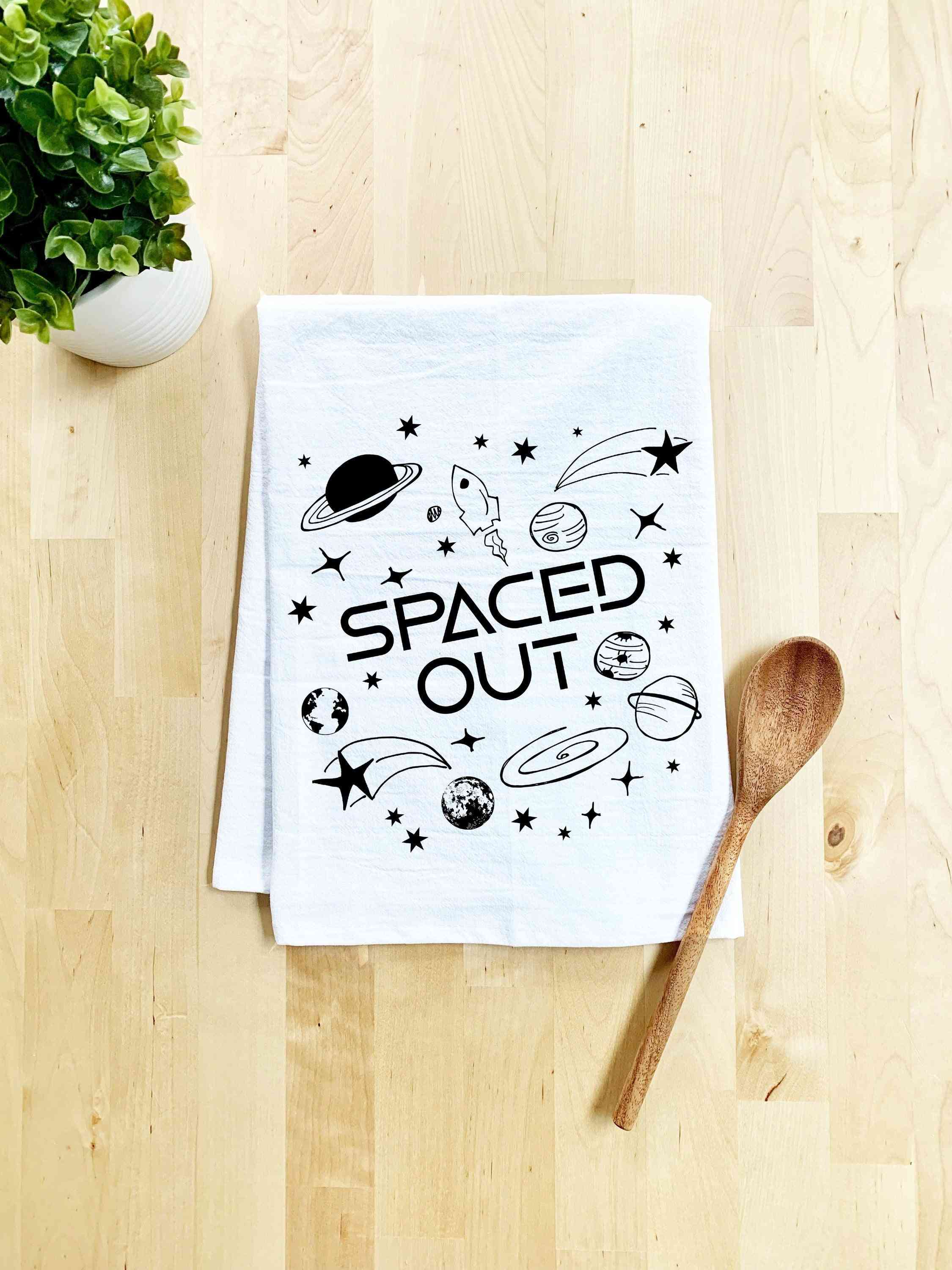 Spaced Out Dish Towel