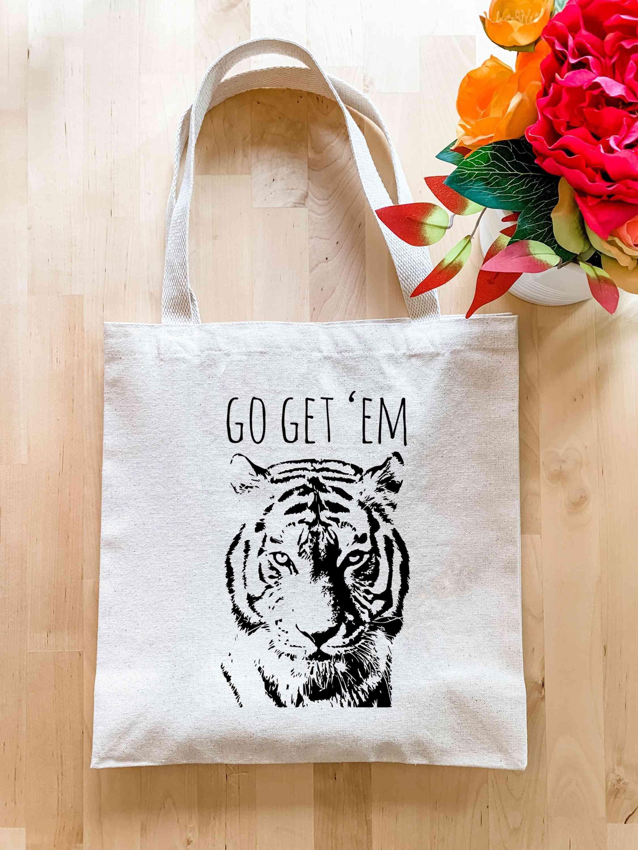 Go Get 'em Tiger - Tote Bag