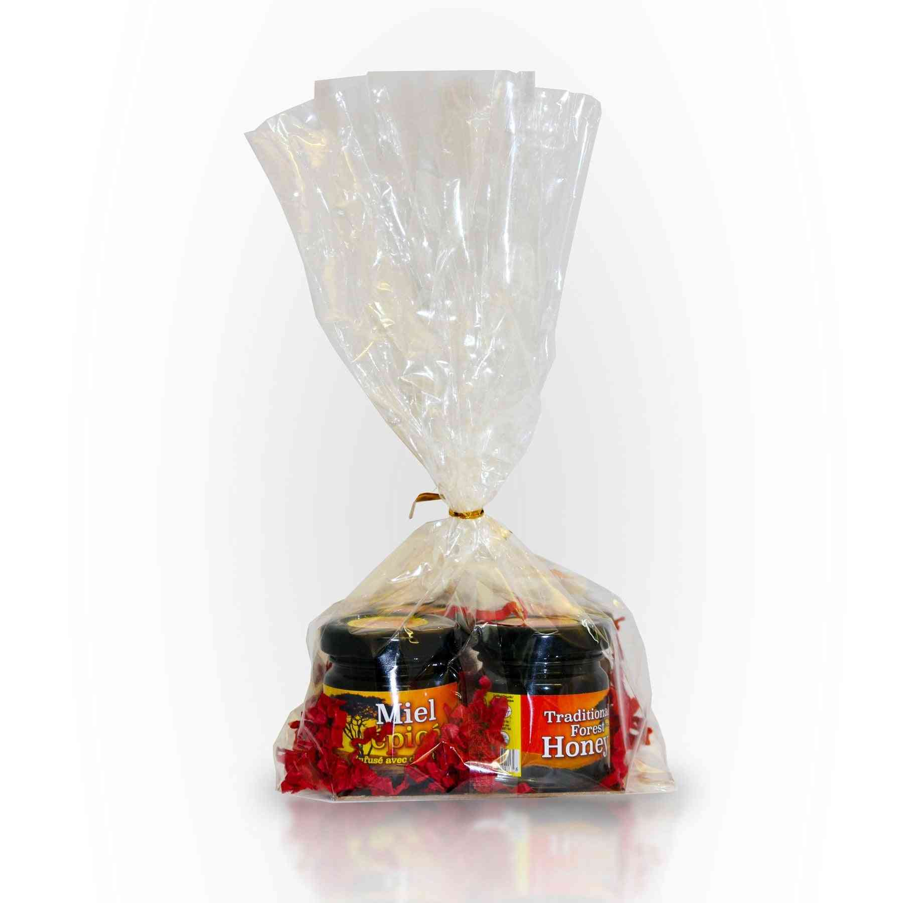 Wild Honey Mini Jars - 4 Pack