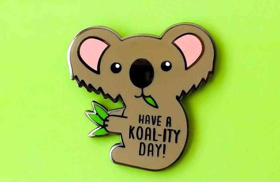 Koala Enamel Pin