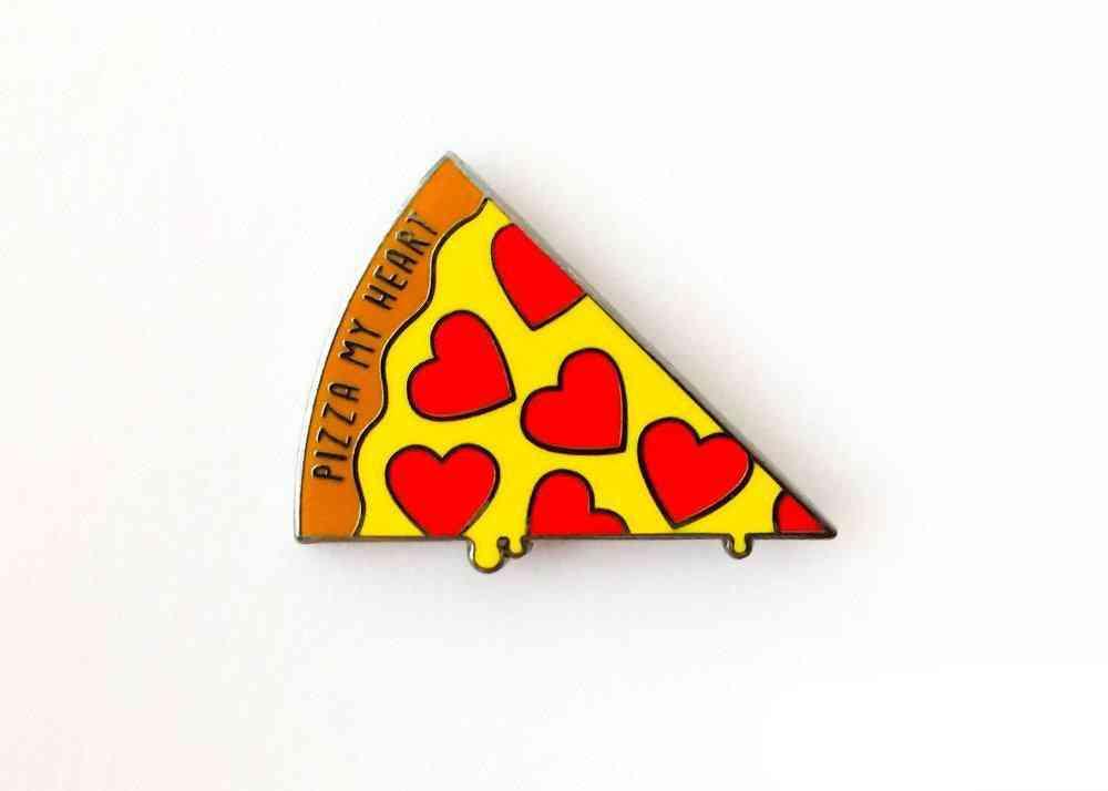 Pizza Hard Enamel Pin