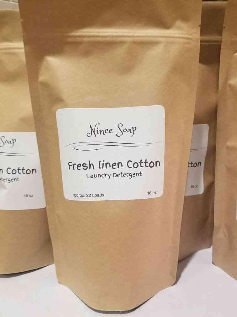 Fresh Linen Cotton - Laundry Detergent