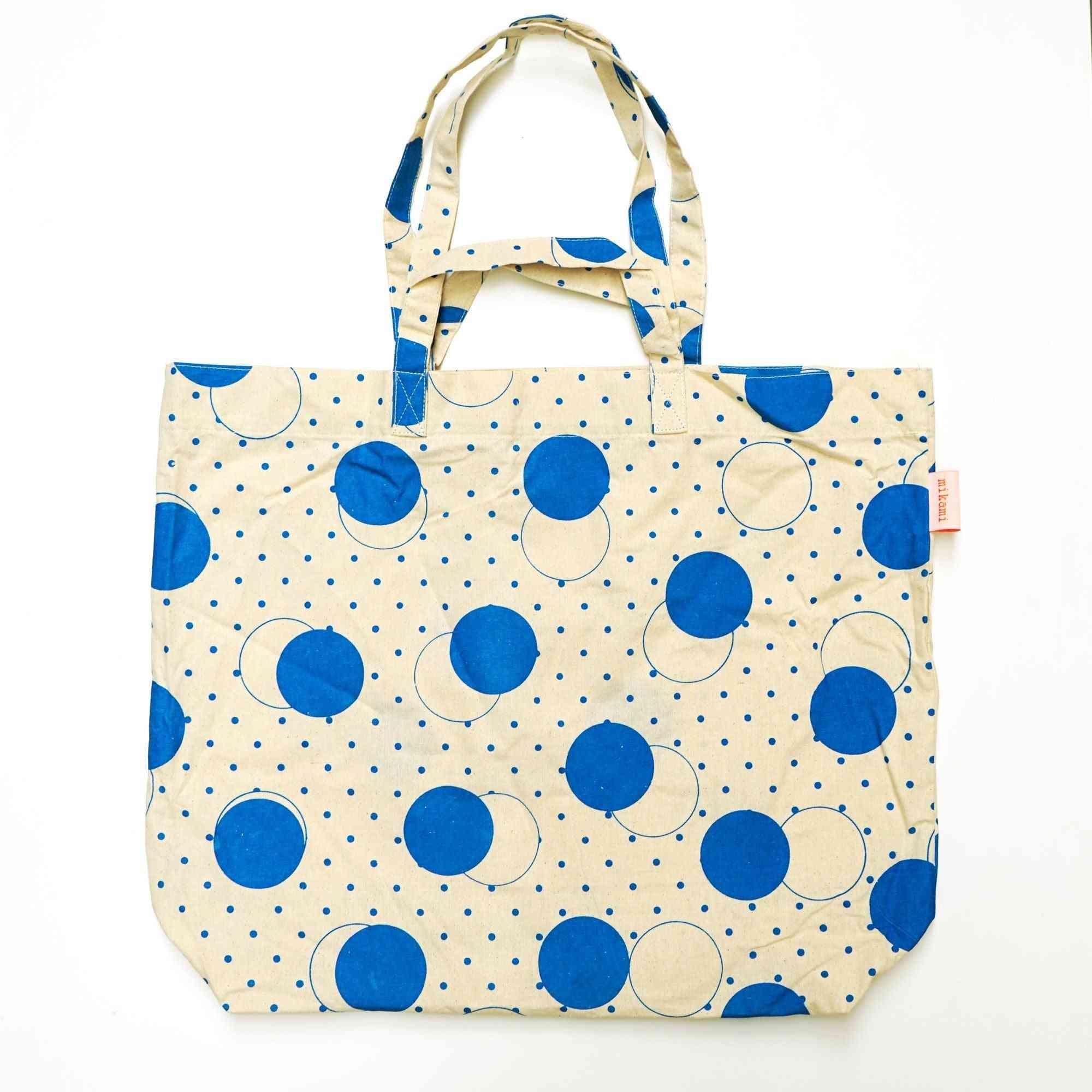 Blue Dot - Tote Bag
