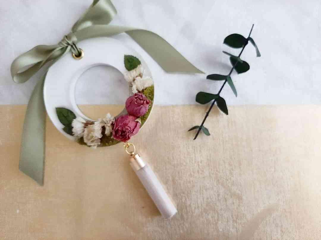 White Garden Rose Glossy - Air Freshener