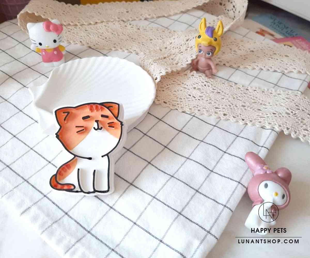Happy Pets - Smiling Kitty - Car Air Freshener