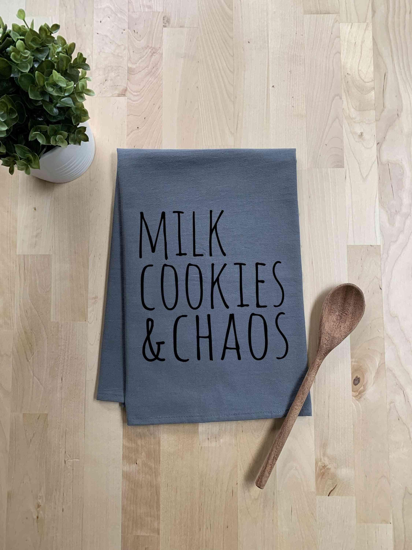 Milk Cookies & Chaos Dish Towel