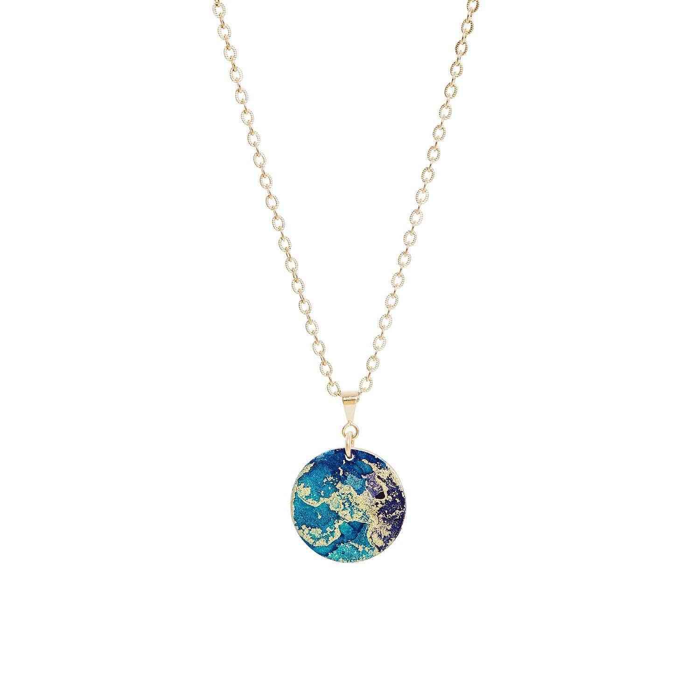 Gold Fine Pendant Necklace