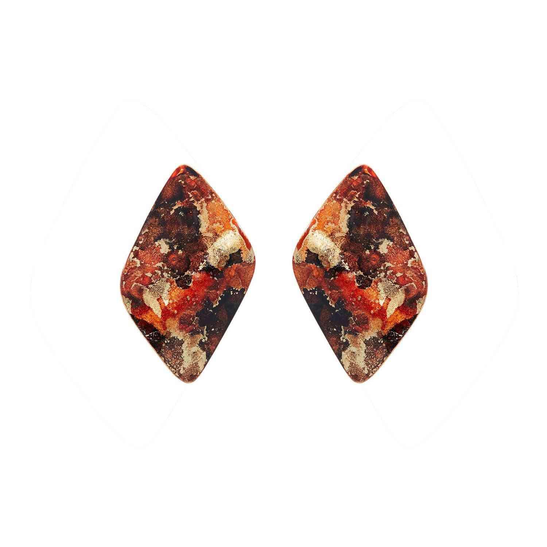 Gold Mini Twist Earrings