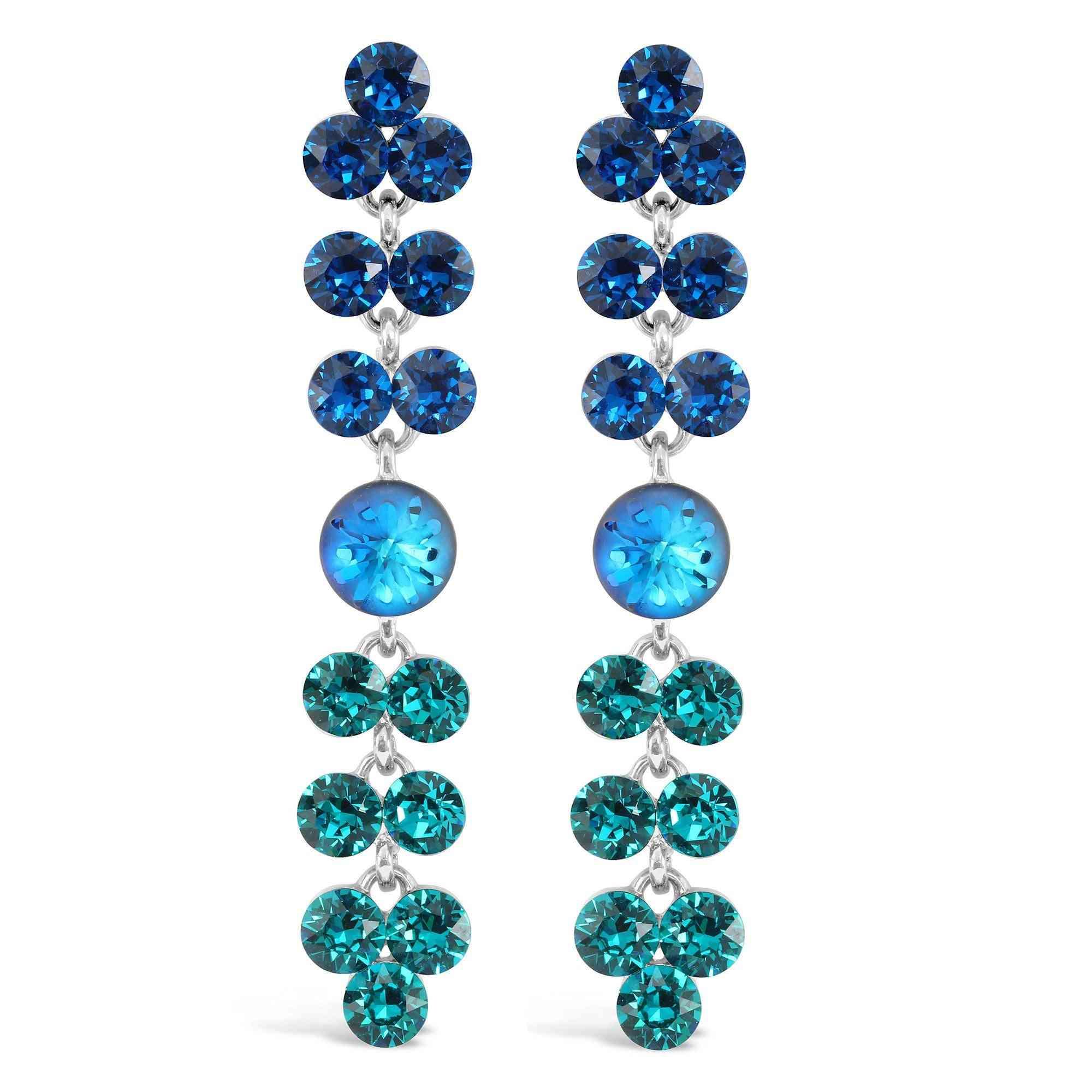 Ocean Inspired-bermuda Drop Earrings