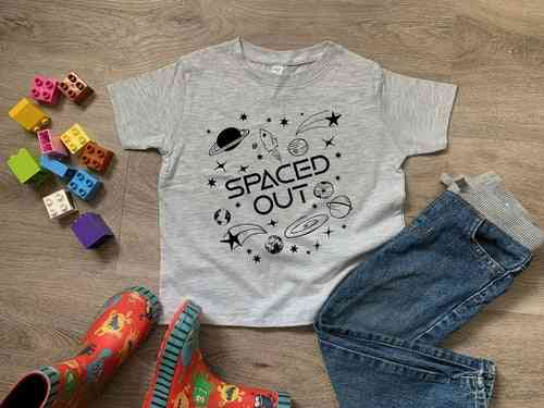 Spaced Out Print T Shirt