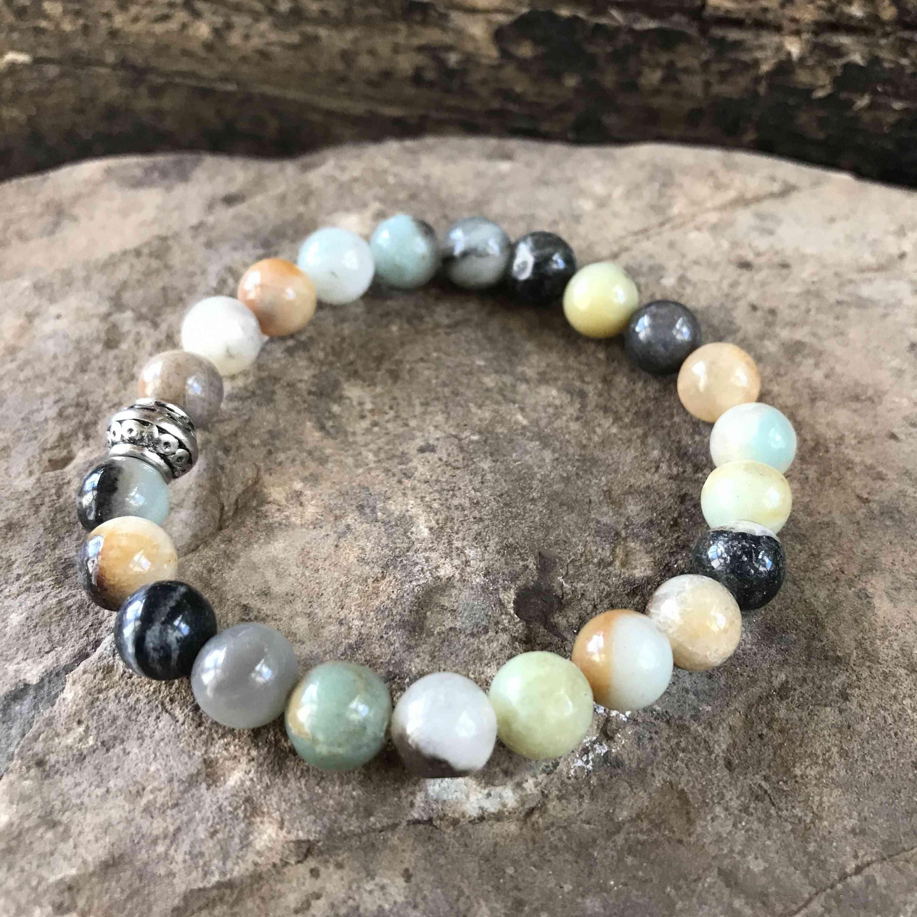 Gold Amazonite Bracelet