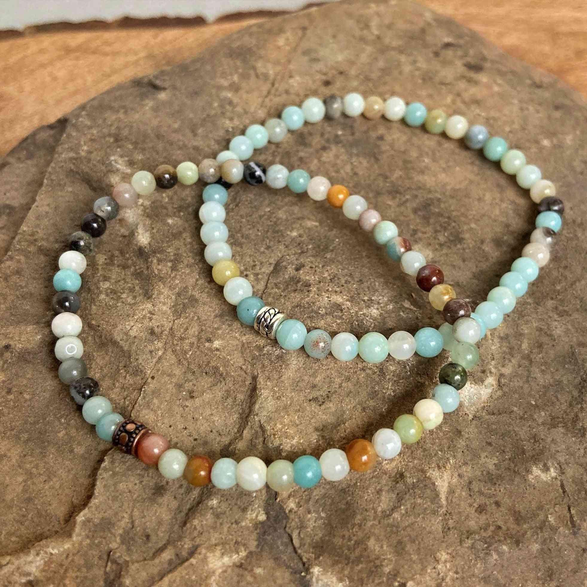 Amazonite Mini Bead Bracelet