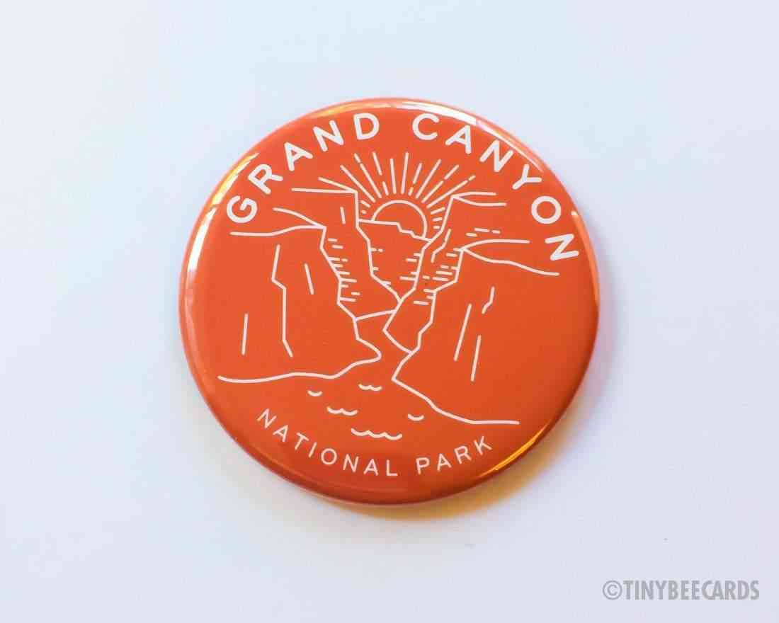 Grand Canyon National Park Magnet, Pin Or Pocket Mirror