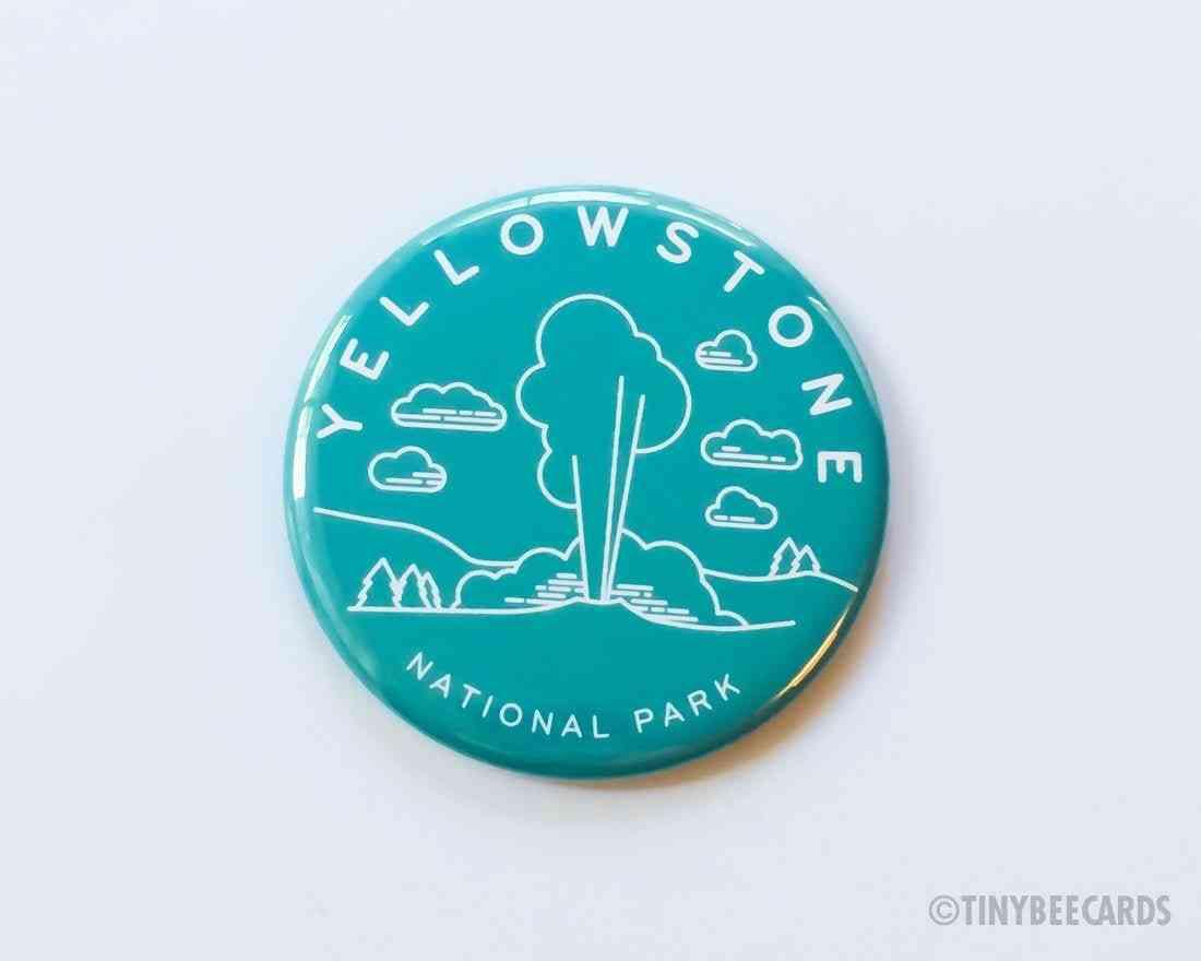 National Park Magnet Pin