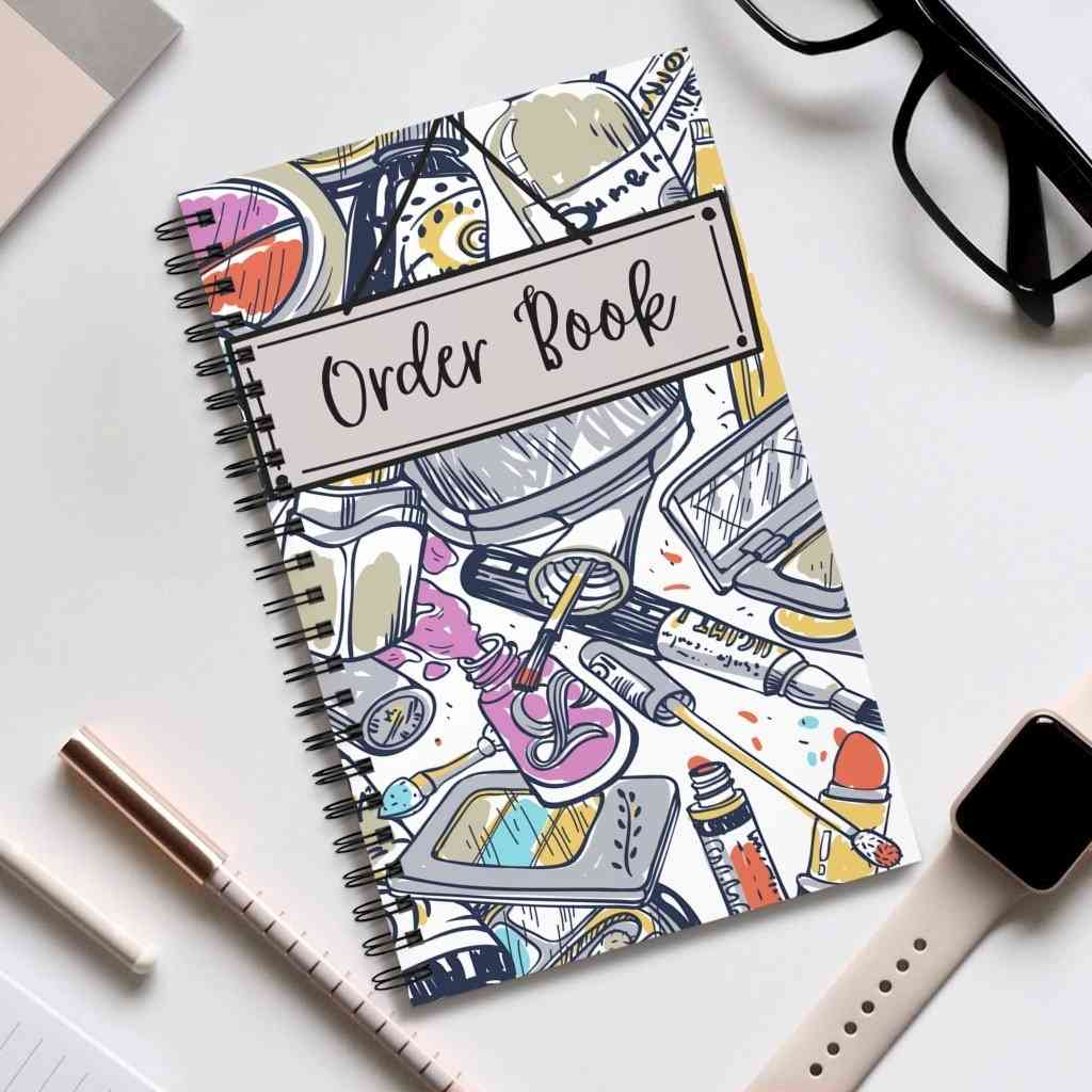 Order Book 100 Pages