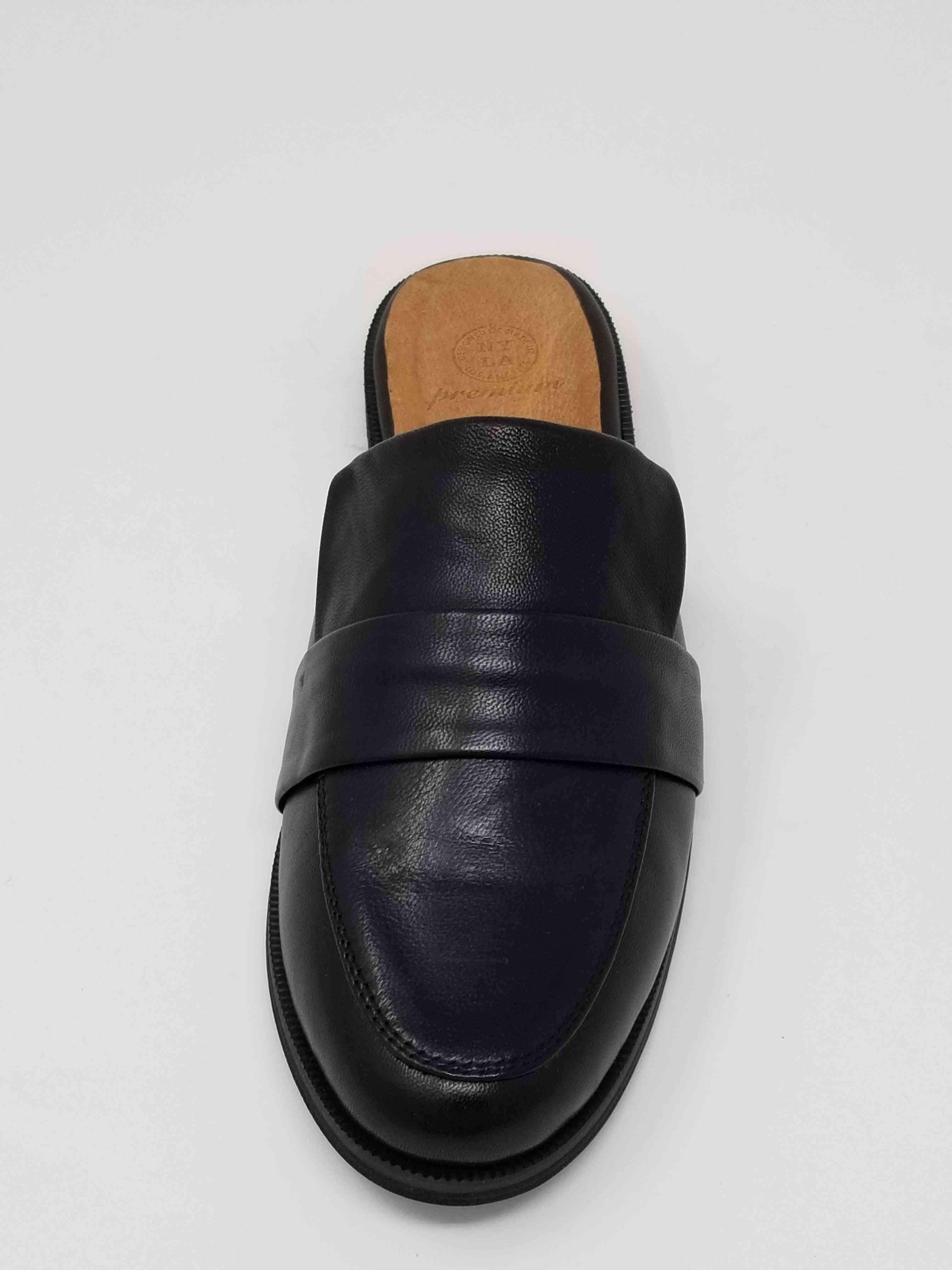 Genuine Leather Slip-on Shoe
