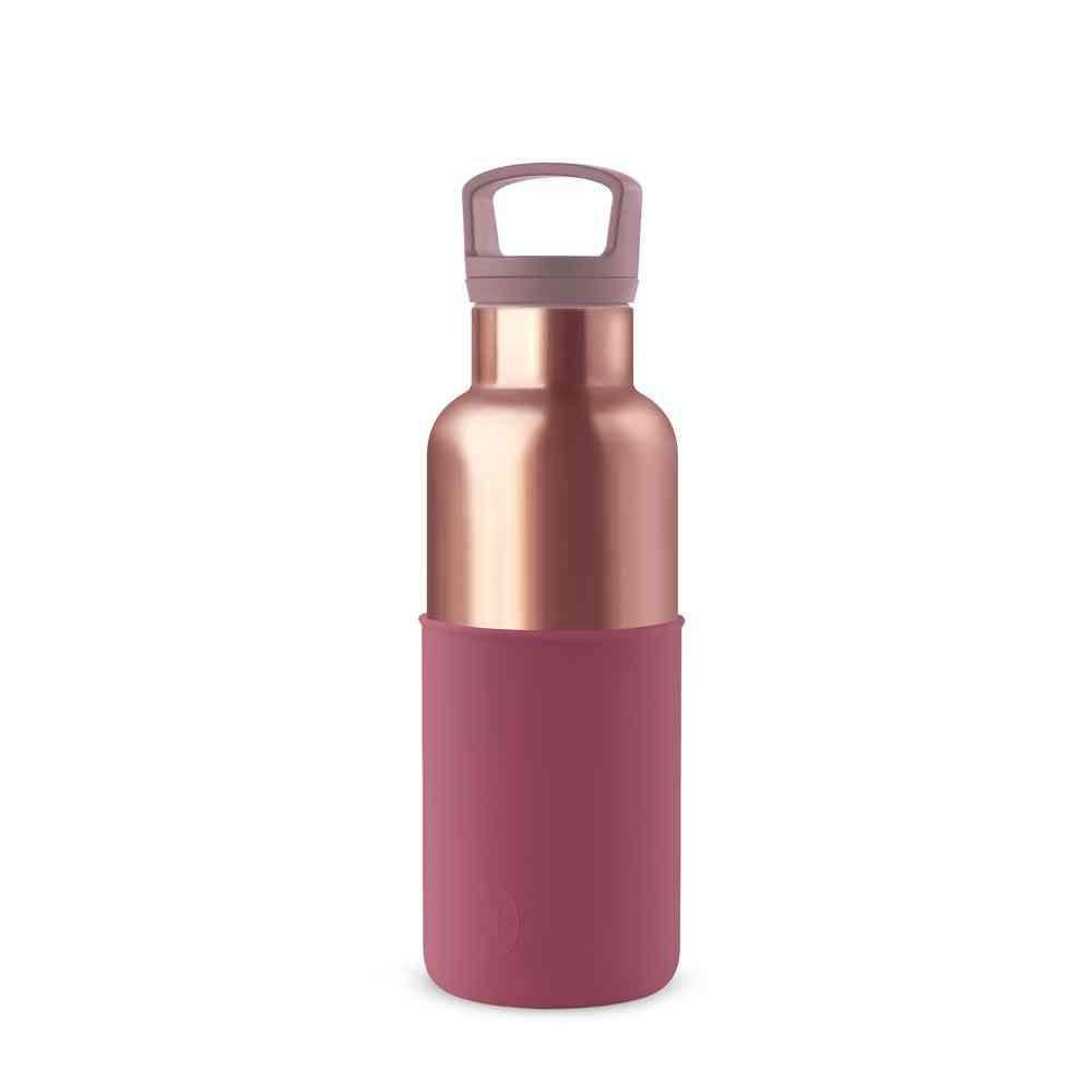 Wine Red Vacuum Thermal Flasks