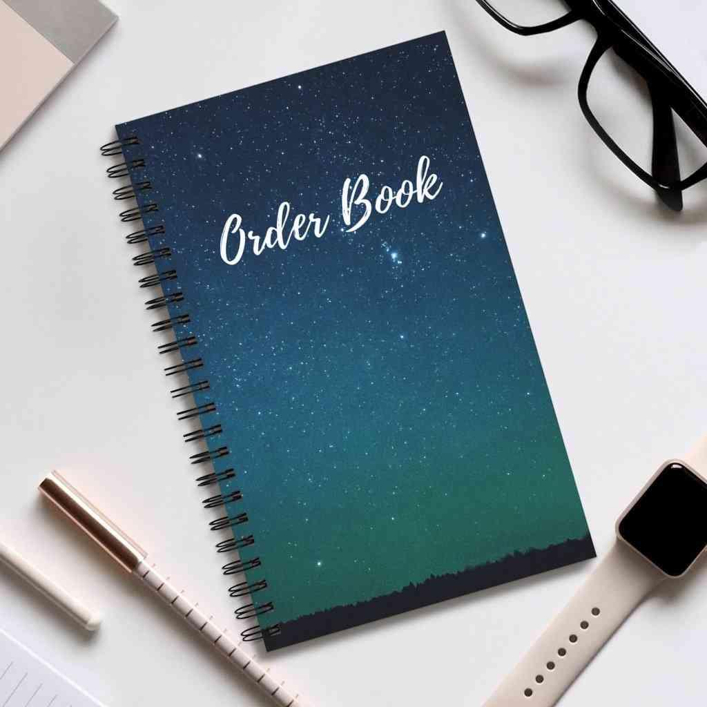 Spiral Bound A5 Order Book