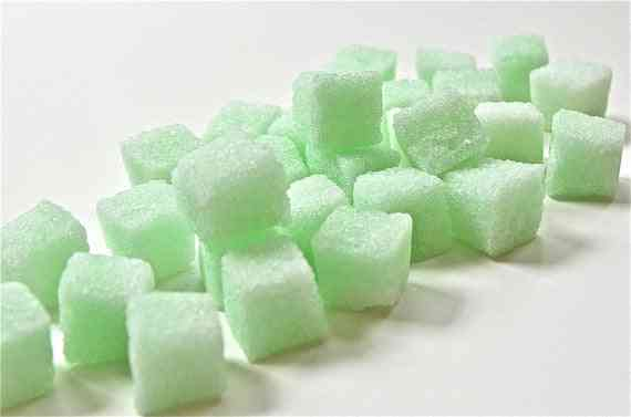 Handmade Mint Flavored Sugar Cube