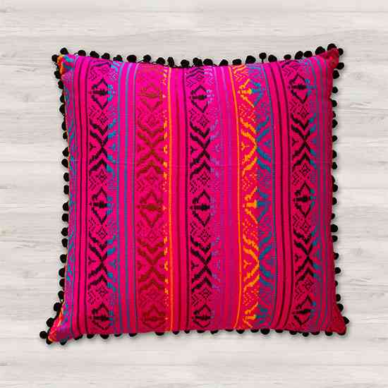 Square Accent Hand Loom Pillows