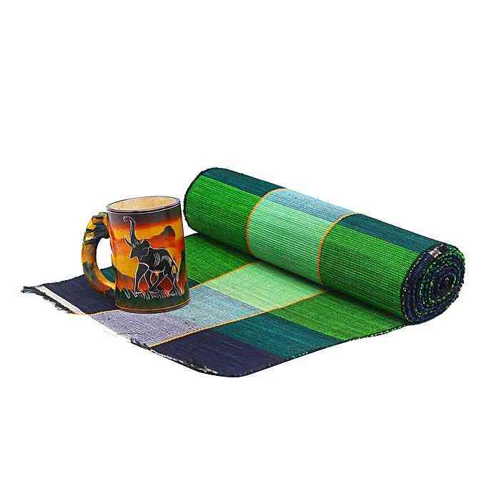 Handcrafted - One Table Runner And Six Place Mats