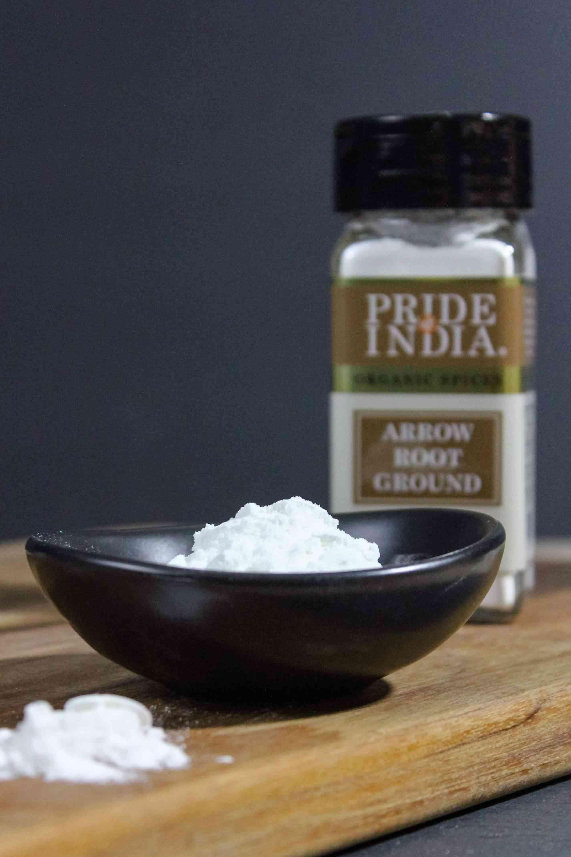 Organic Arrowroot Ground Powder