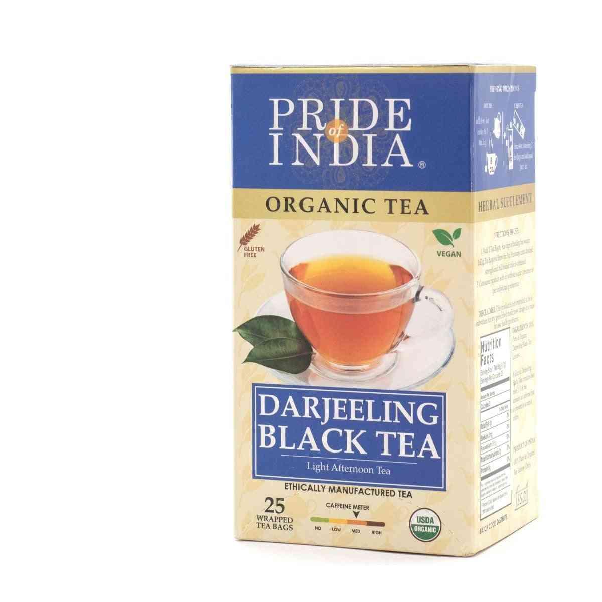 Organic Darjeeling Afternoon Black Tea Bags