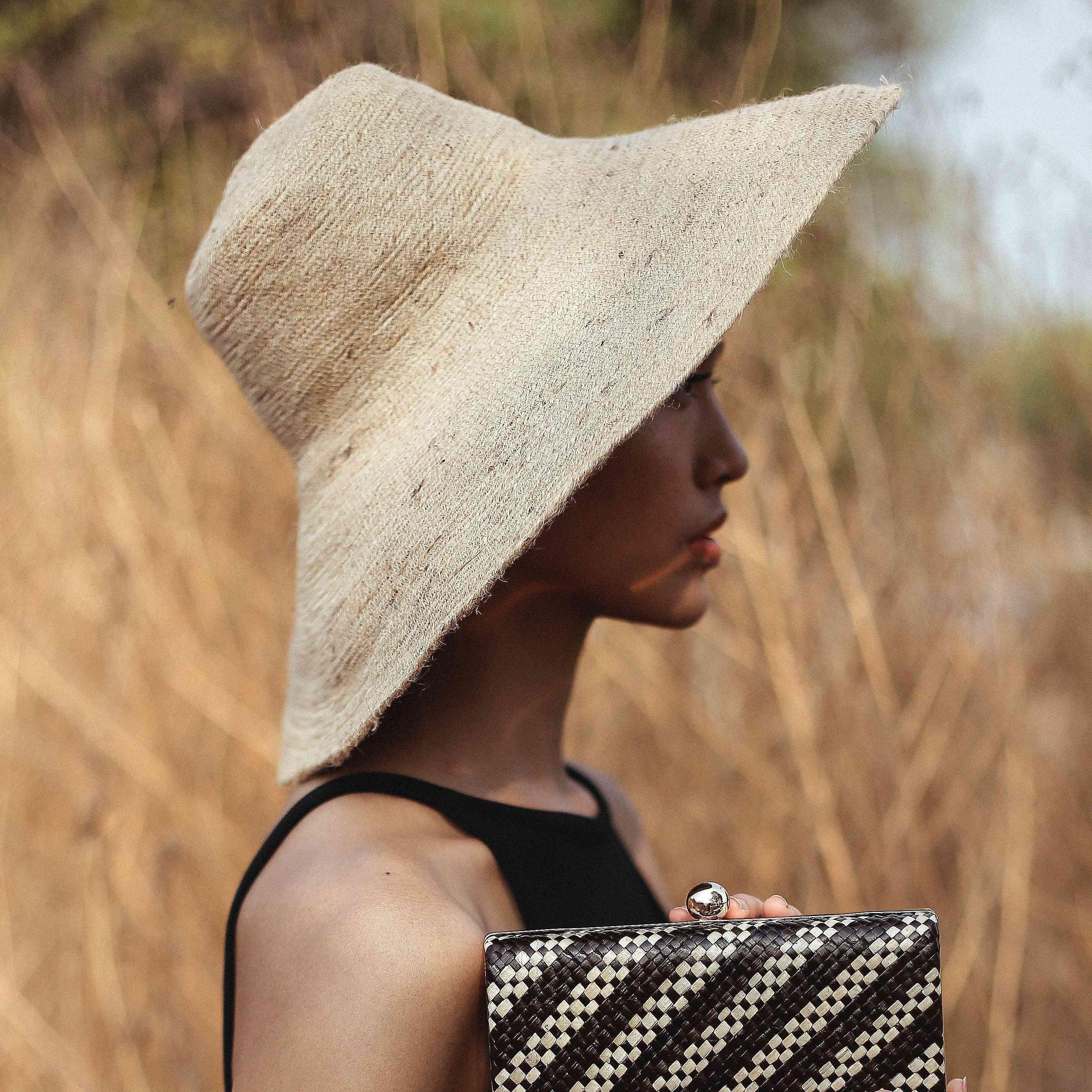 Natural Jute Straw Hat