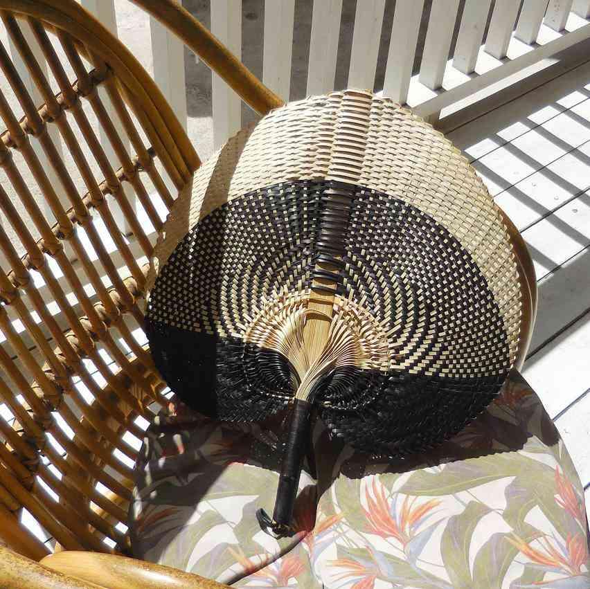 Woven Hand Fan